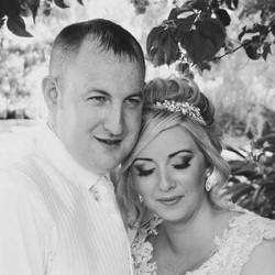 algarve bride and groom