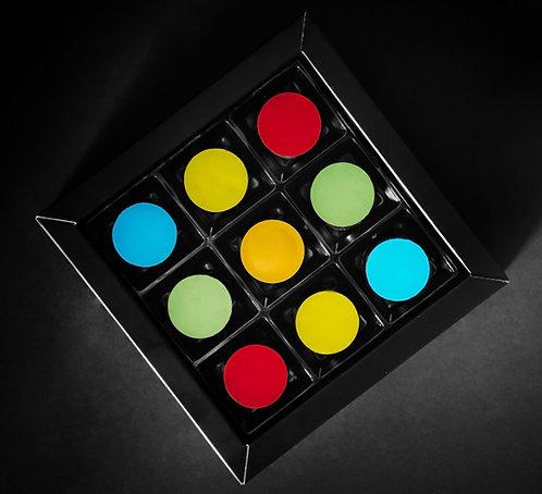 CHOCOLATE BONBONS - 9pcs
