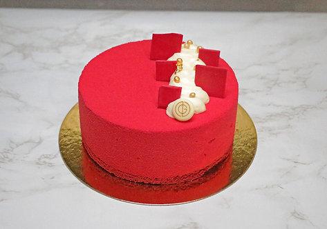"""RED VELVET CAKE - 6"""""""