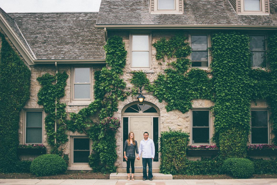 Dan + Kayleigh | Niagara Botanical Gardens Engagement Session