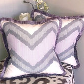 Purple Fringe & Geometric Print Fun!_The