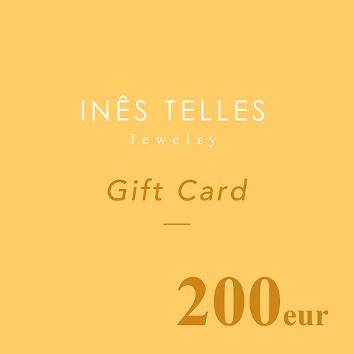 Cartão Oferta 200€