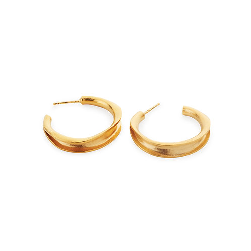 Coa Earrings Gold Plated
