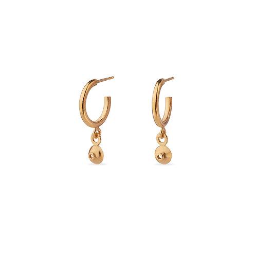 Azura Gold Plated Earrings