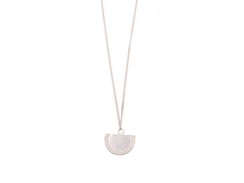 Beltia Necklace Silver Long