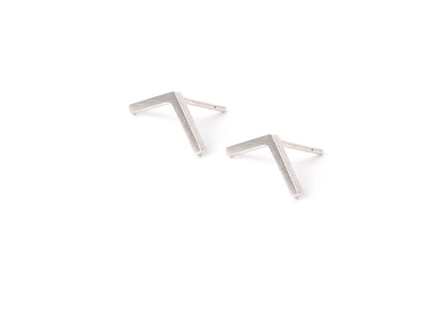 Lineas Earrings Silver