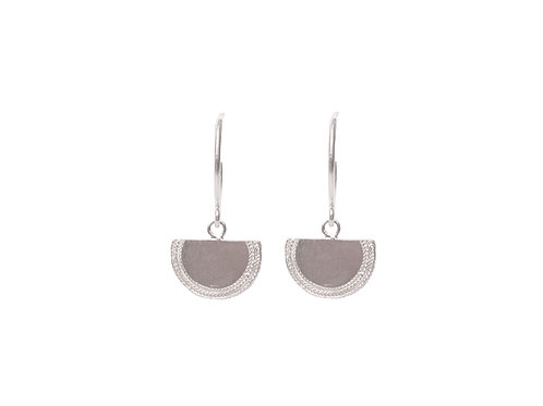 Beltia Earrings Silver