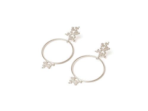 Ilhas Earrings Silver
