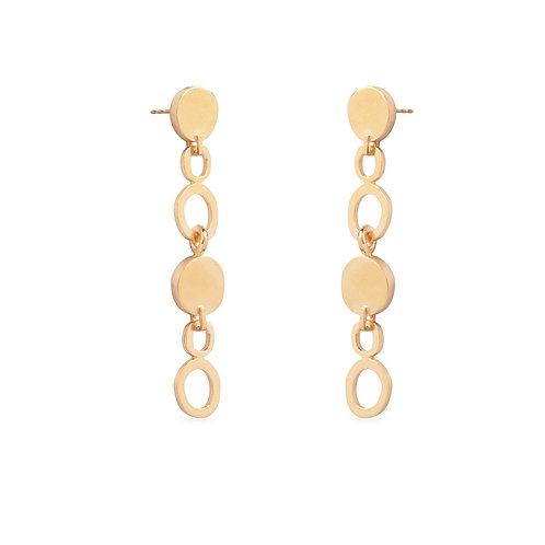Duoo Gold Plated Earrings