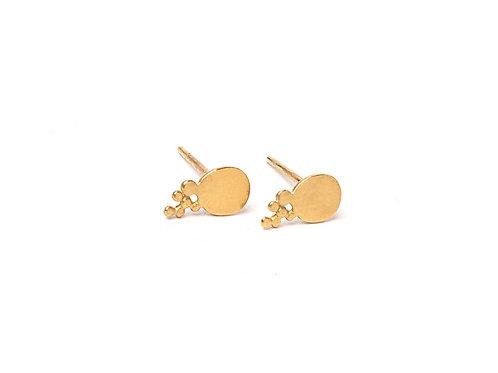 Ilhas Earrings Gold Plated Silver