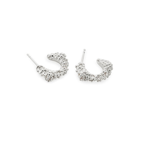 Lorena Silver Earrings