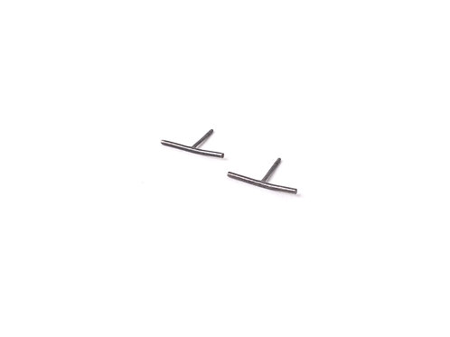 Otomí Earrings Oxidized Silver