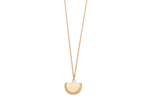 Beltia Necklace Gold Plated Silver Long