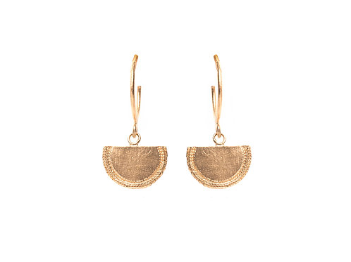 Beltia Earrings Gold Plated Silver