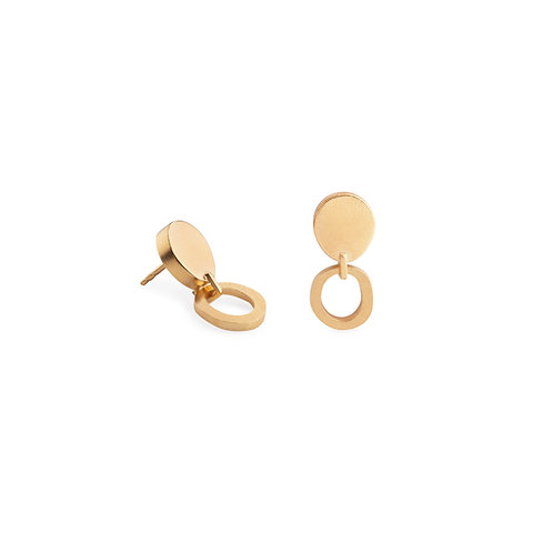 Duoo Gold Plated Earrings