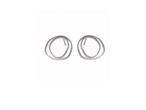 Meatus Earrings Silver