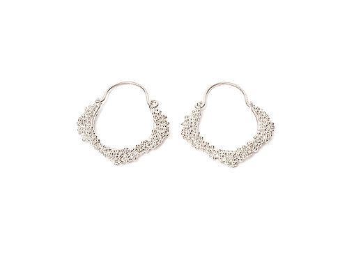 Ilhas Earrings Silver