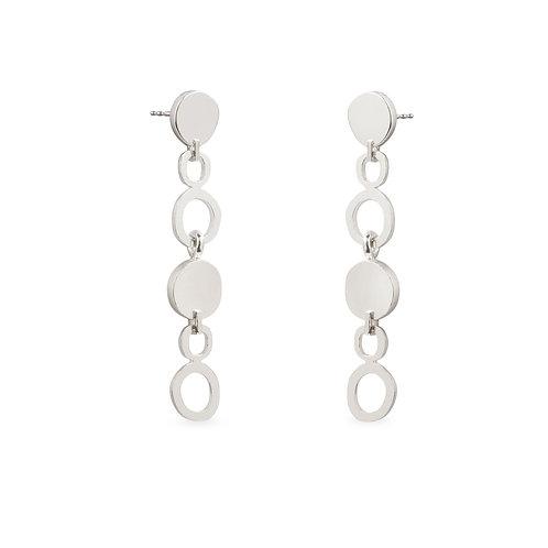 Duoo Silver Earrings