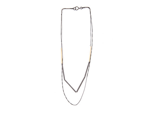 Lineas Necklace Gold