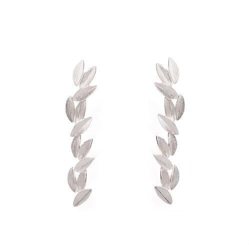 Hera Earrings Silver