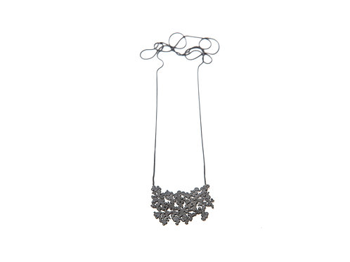 Ilhas Necklace Oxidized Silver