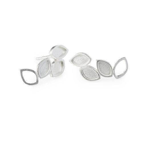 Luzia Earrings Silver