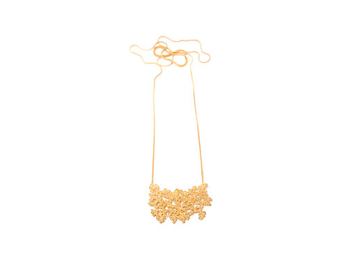 Ilhas Necklace Gold Plated Silver