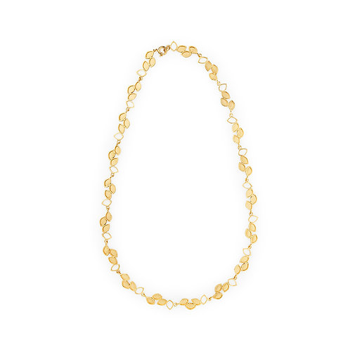 Luzia Necklace Gold Plated Silver