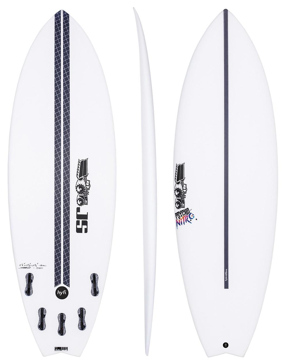 JS Psycho Nitro Hyfi 2018-Surfboard