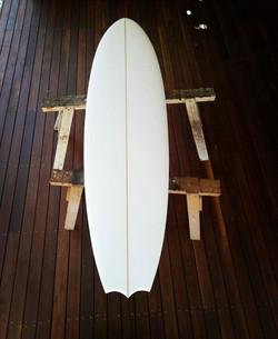 Tragic Idol Hand Shaped Surfboard