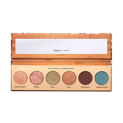 Butter Natural Goddess Eyeshadow Palette