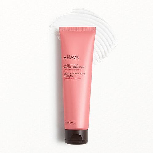 Ahava Deadsea Water Mineral Hand Cream Cactus & Pink Pepper (jumbo size)