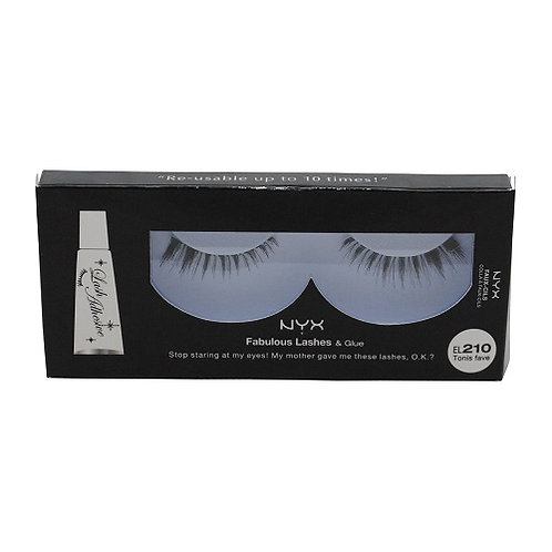 NYX Fabulous Lashes and Glue EL210 Tonis Fave
