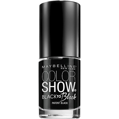 Maybelline Color Show Back to Black Nail Polish