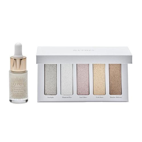 Kypris Illuminating Eye Serum & Primer + Shimmer Palette Set