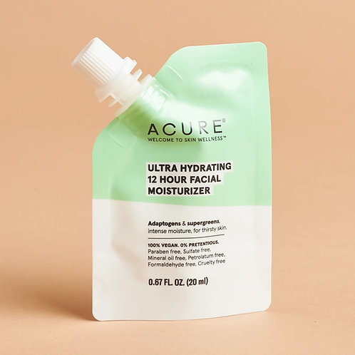 Acure Ultra Hydrating 12 Hour Facial Moisturizer (travel size)