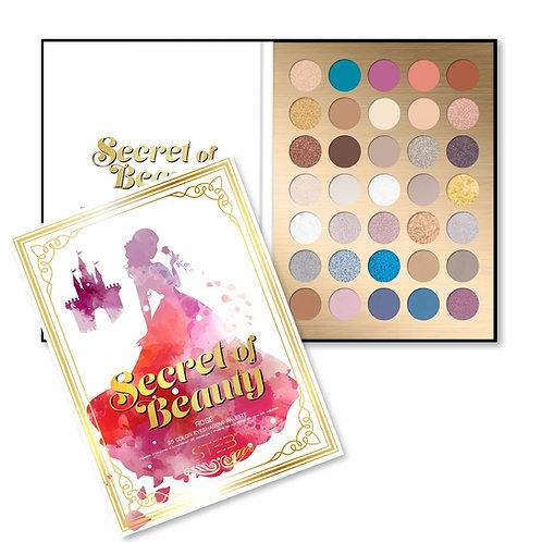 STEB Secret of Beauty Rose 35 Color Eyeshadow Palette