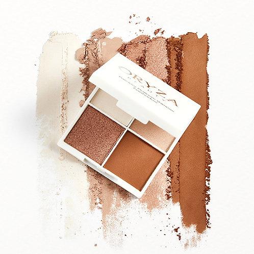 Oryza Precious Platinum Shimmer Eyeshadow