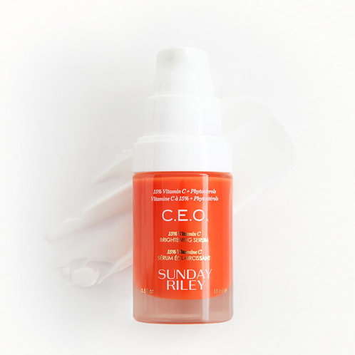 Sunday Riley C.E.O. 15% Vitamin C Brightening Serum (travel size)