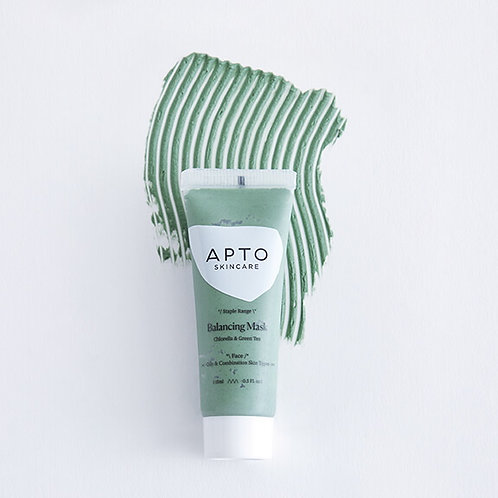 Apto Balancing Mask with Chlorella and Green Tea (travel siza)