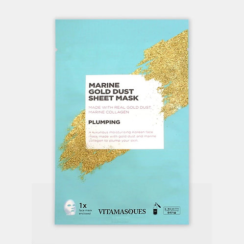 Vitamasques Marine Gold Dust Sheet Mask (1 mask)