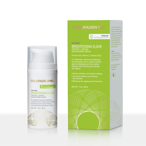 Goldfaden MD Brightening Elixir Protect + Repair Brightening Serum