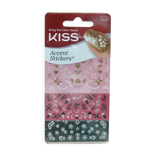 Kiss Nail Accent Stickers