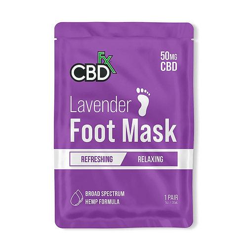 CBDfx Lavender Foot Mask (1 pair)