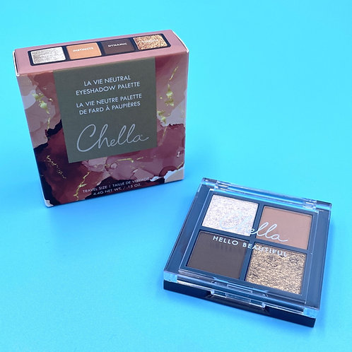 Chella La Vie Neutral Eyeshadow Palette (travel size)