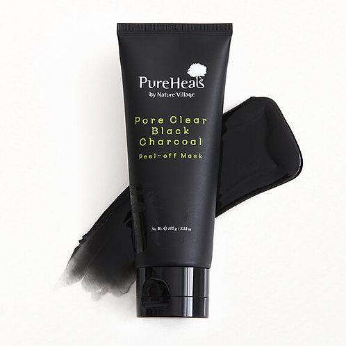 Pureheals Pore Clear Black Charcoal Peel-off Mask