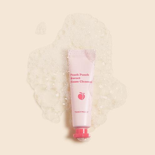 Tonymoly Peach Punch Sweet Foam Cleanser (deluxe sample)