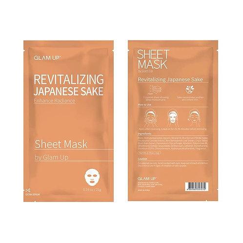 Glam Up Revitalizing Japanese Sake Sheet Mask (1 mask)
