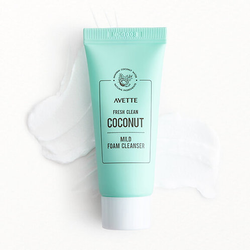 Avette Fresh Clean Coconut Mild Foam Cleanser (mini)