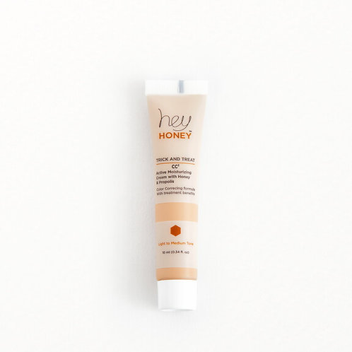 Hey Honey Trick and Treat CC Cream With Honey and Propolis (travel size)